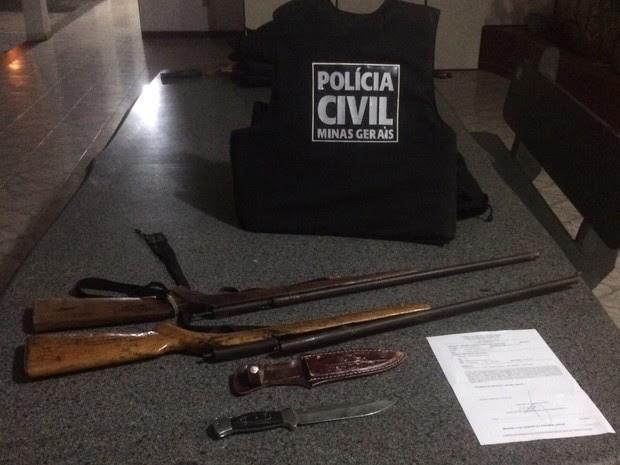 Homem trocou tiros com policiais civis (Foto: Divulgação / Polícia Civil )