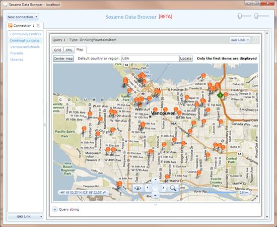 Sesame Map Vancouver