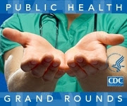 Public Health Grand Rounds graphic button