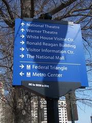 Wayfinding Sign