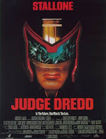 Sadly, Anthrax's 'I Am The Law' is not on the soundtrack.  JUDGE DREDD