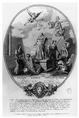 médaillon du roi constitutionnel Louis XVI