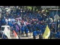 """""""Turunkan Jokowi"""" Ribuan Mahasiswa Riau Turun ke Jalan"""