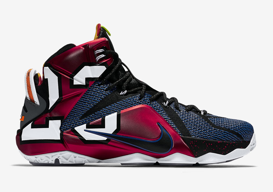 """Nike LeBron 12 """"What The"""" Official Images, Release Date ..."""