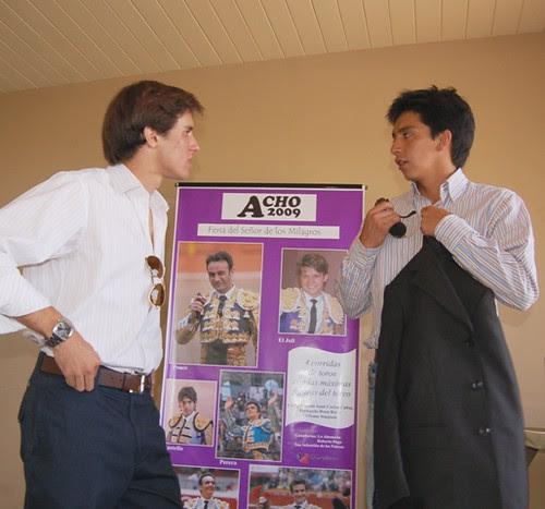 Fernando Roca Rey y Juan Carlos Cubas