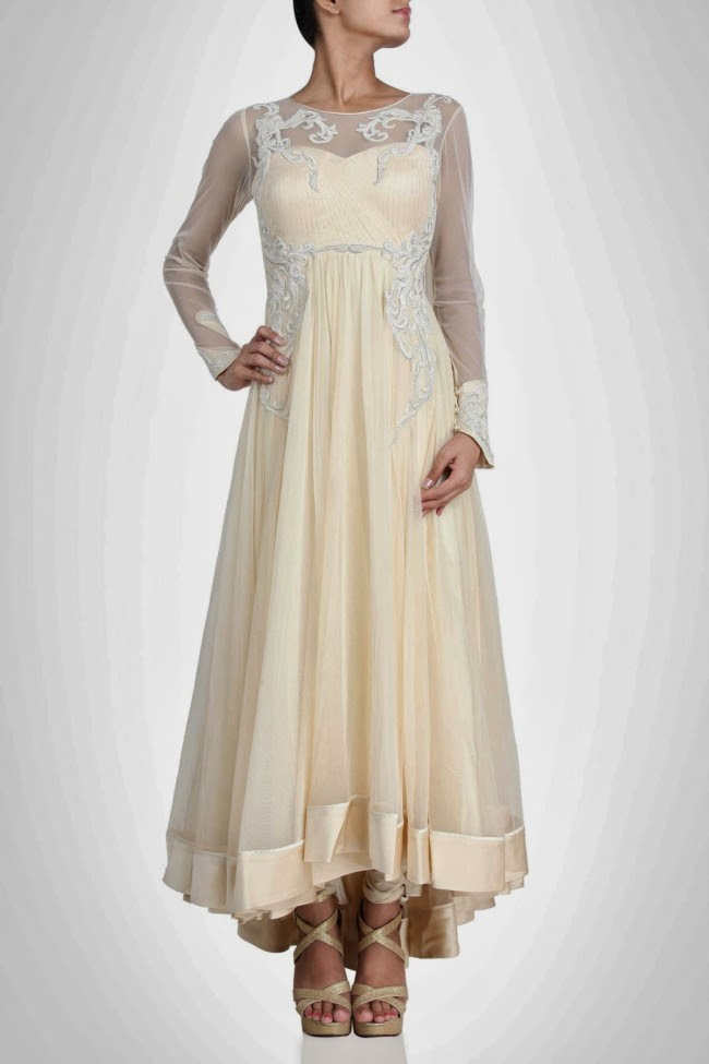 Amazing-Style-Designer-Wedding-Anarkali-Churidar-Frock-And-Sarees-Dress-by-Gaurav-Gupta-11