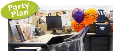 Party411 Office Halloween Themes And Decorating Ideas