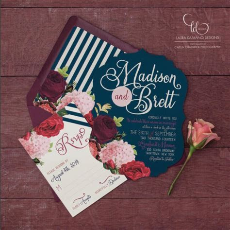 Top 4 Hot Wedding Invitation Trends for 2018 ? Perfectly