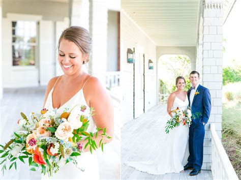 Emily   Wills // Colorful Summer Wedding at the Ocean