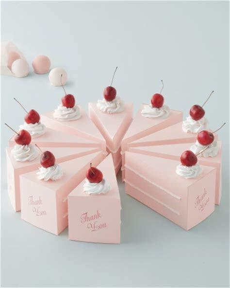 Boxed Wedding Favors   Martha Stewart Weddings