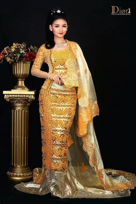 Myanmar Wedding Dress   Myanmar Wedding Dress   Myanmar