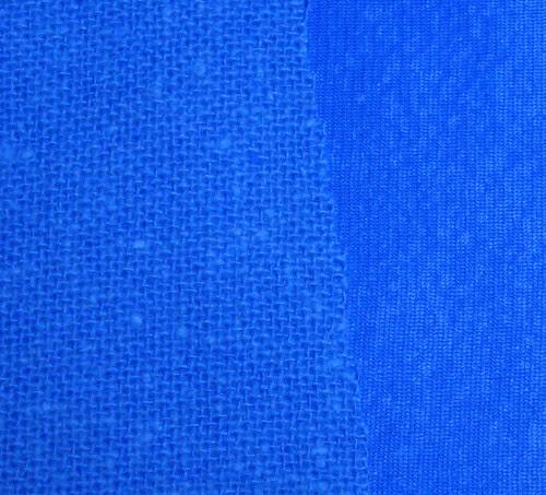 Blue Vintage fabric sample