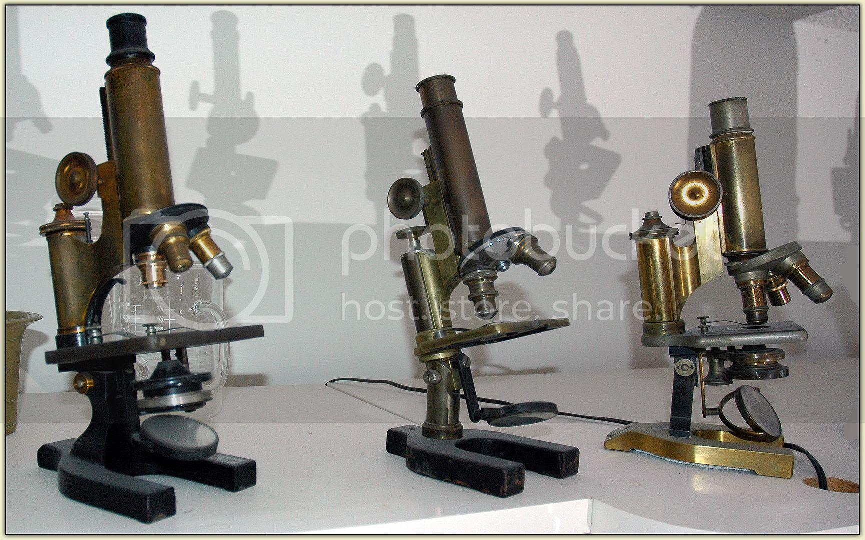 Antique Microscopes
