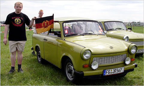 In 2007, Trabant owners gathered to celebrate the car's 50th anniversary. Three years later, there are only 35,000 Trabants remaining on the road.