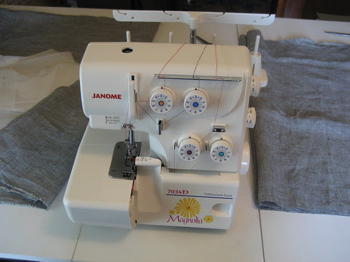 my new serger