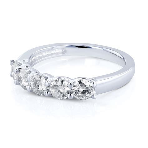 Shira Diamonds Dallas : 1 Carat Wedding Band : Womens