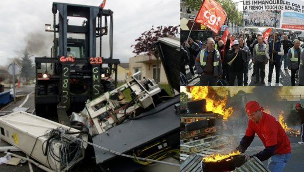 French workers are no strangers to radical tactics, as labor movement watchers have observed over the years.