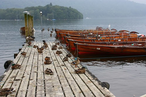 Boat ramp at Bowness on Windermere