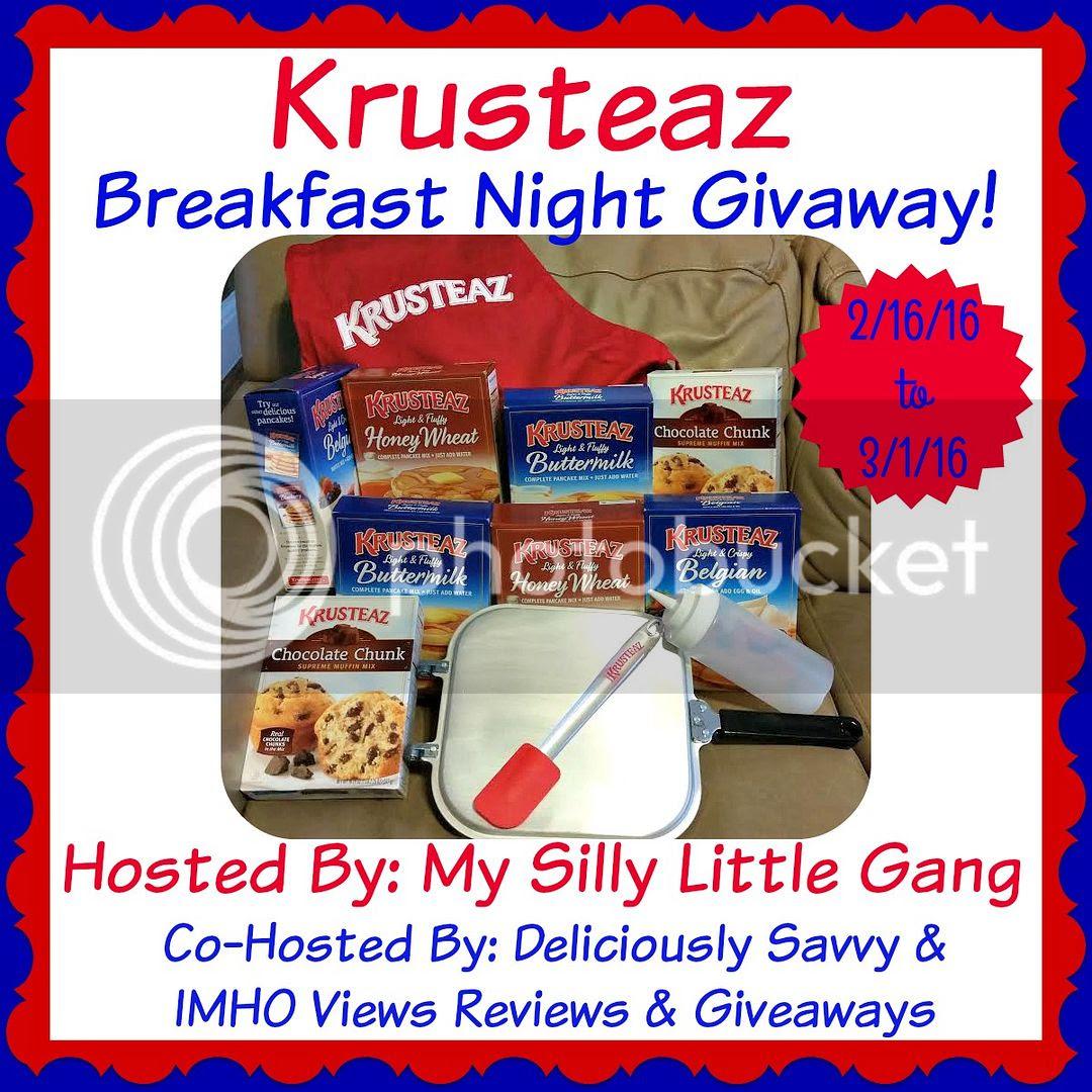 Krusteaz Giveaway
