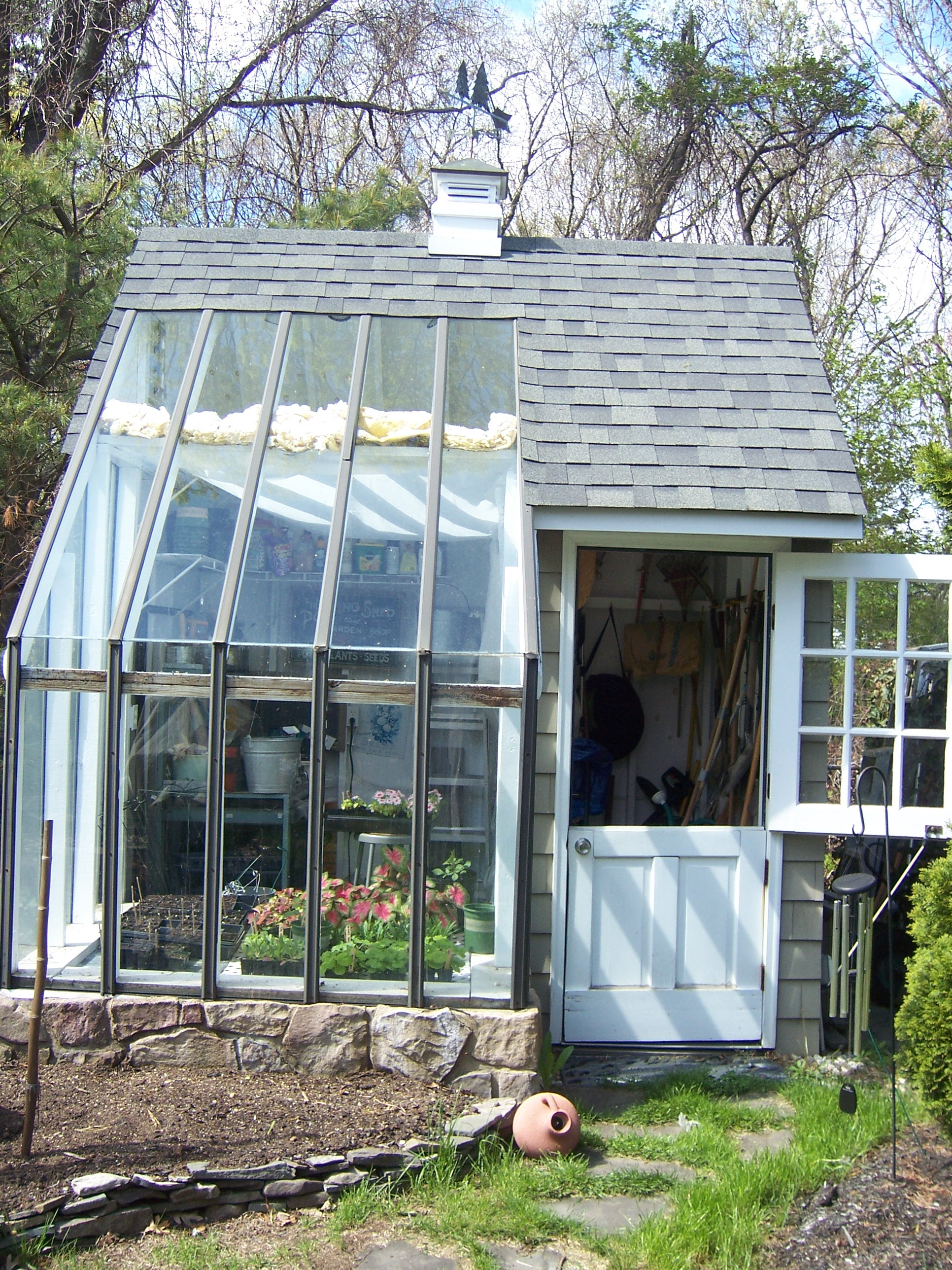 Tell a Victorian potting shed plans