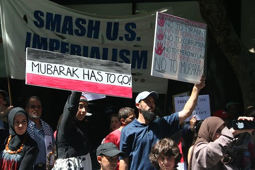 Mubarak has to go - Egypt Uprising Melbourne protest