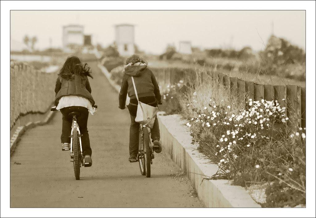 Riding Couple
