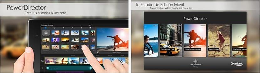 PowerDirectos para Android El poder de la edición de video en Android adopta el nombre de PowerDirector