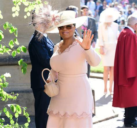 Oprah Winfrey at the Royal Wedding 2018   POPSUGAR