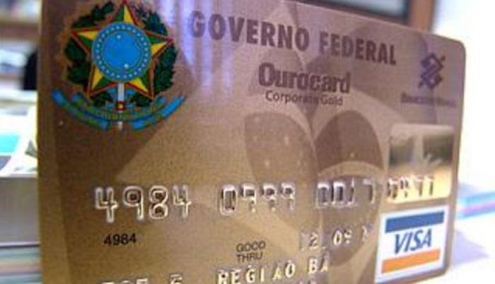 cartao corporativo gov federal