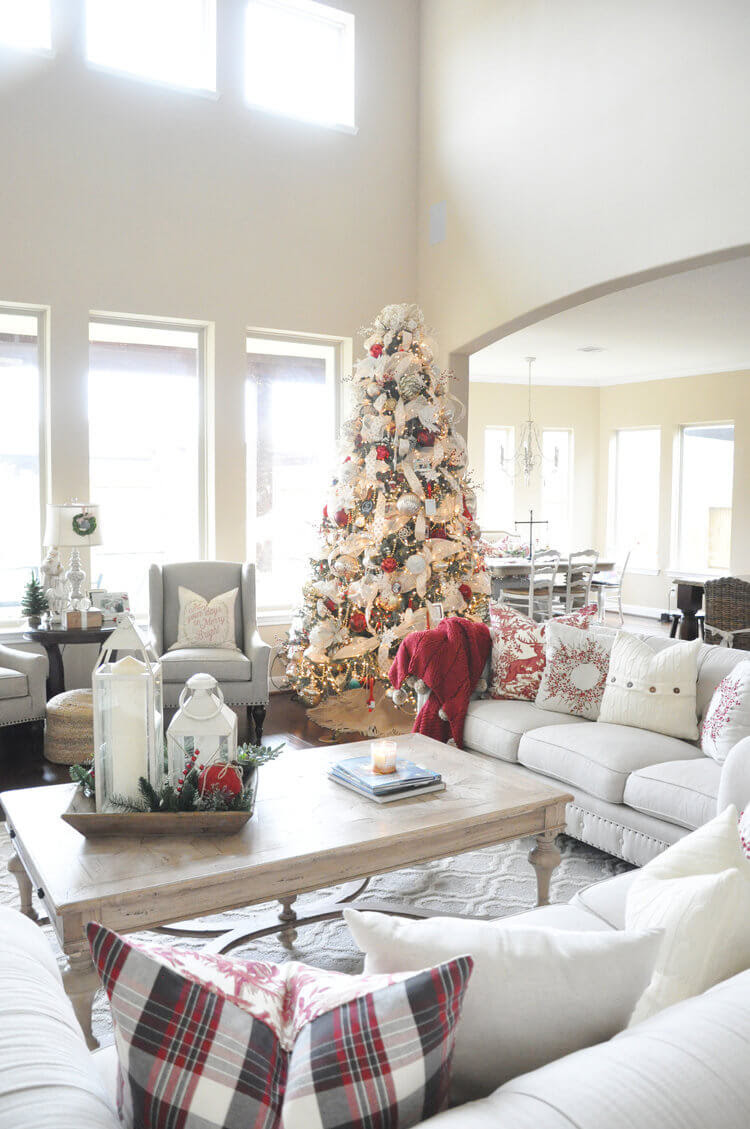 Best Christmas Living Room Decor Ideas And Designs For