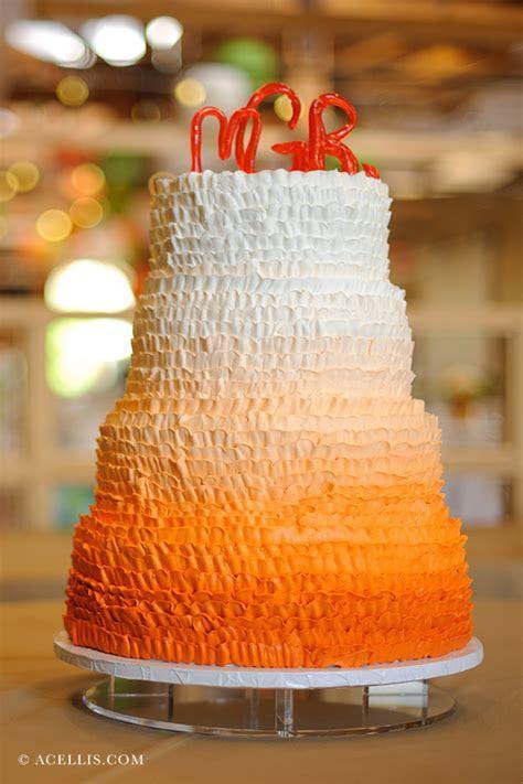 Beautiful Orange Wedding Cakes: Let Orange Inspire You!