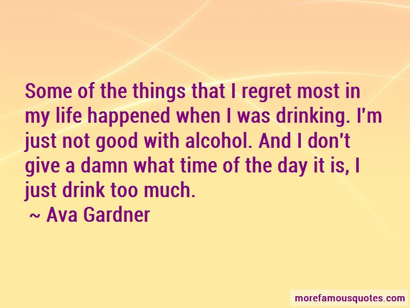 Quotes About Drinking Alcohol Too Much Top 2 Drinking Alcohol Too