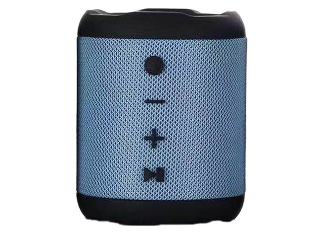X6 Waterproof Portable Bluetooth Speaker (Blue) for $25