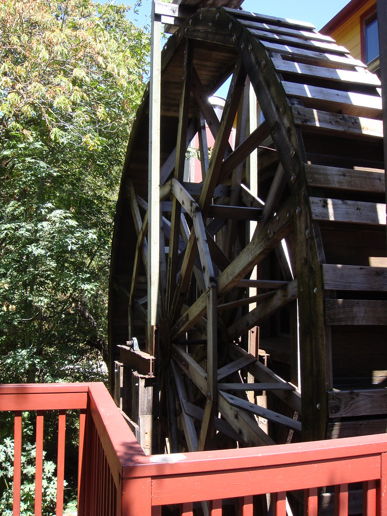 Wheel at Old Gris Mill