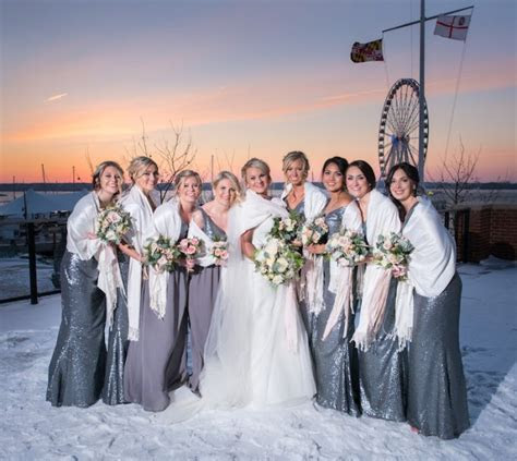 Wintery National Harbor Maryland Wedding   United With Love