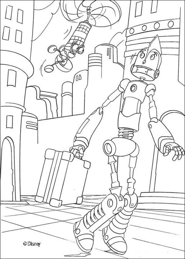 Dibujos Para Colorear Todos Los Robots Eshellokidscom