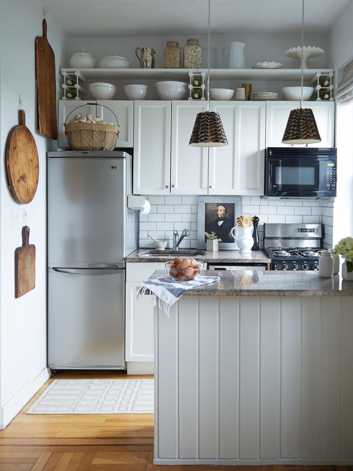 Home Architec Ideas Very Small Apartment Kitchen Design