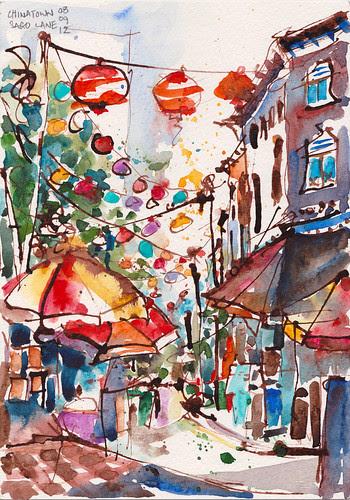 Sago Lane, Chinatown
