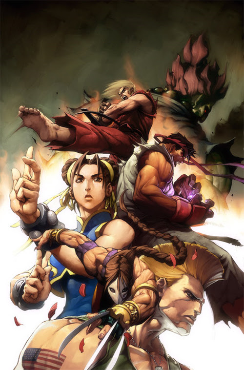 30 Powerful and Inspiring Street Fighter Characters Artworks