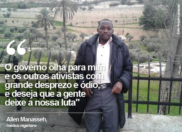 Allen Manasseh (Foto: Arquivo pessoal)
