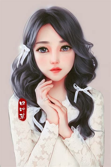 ribbons  hair hair arte arte fantasia dibujos
