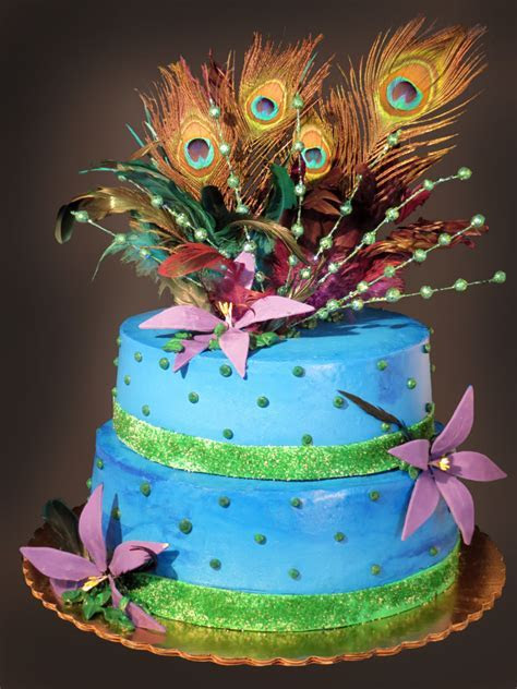 Peacock Cakes ? Decoration Ideas   Little Birthday Cakes