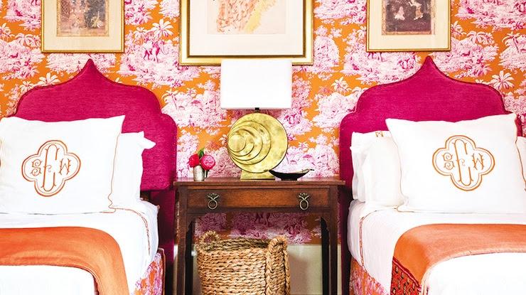 Hot Pink Headboards - Eclectic - girl's room - MMR Interiors