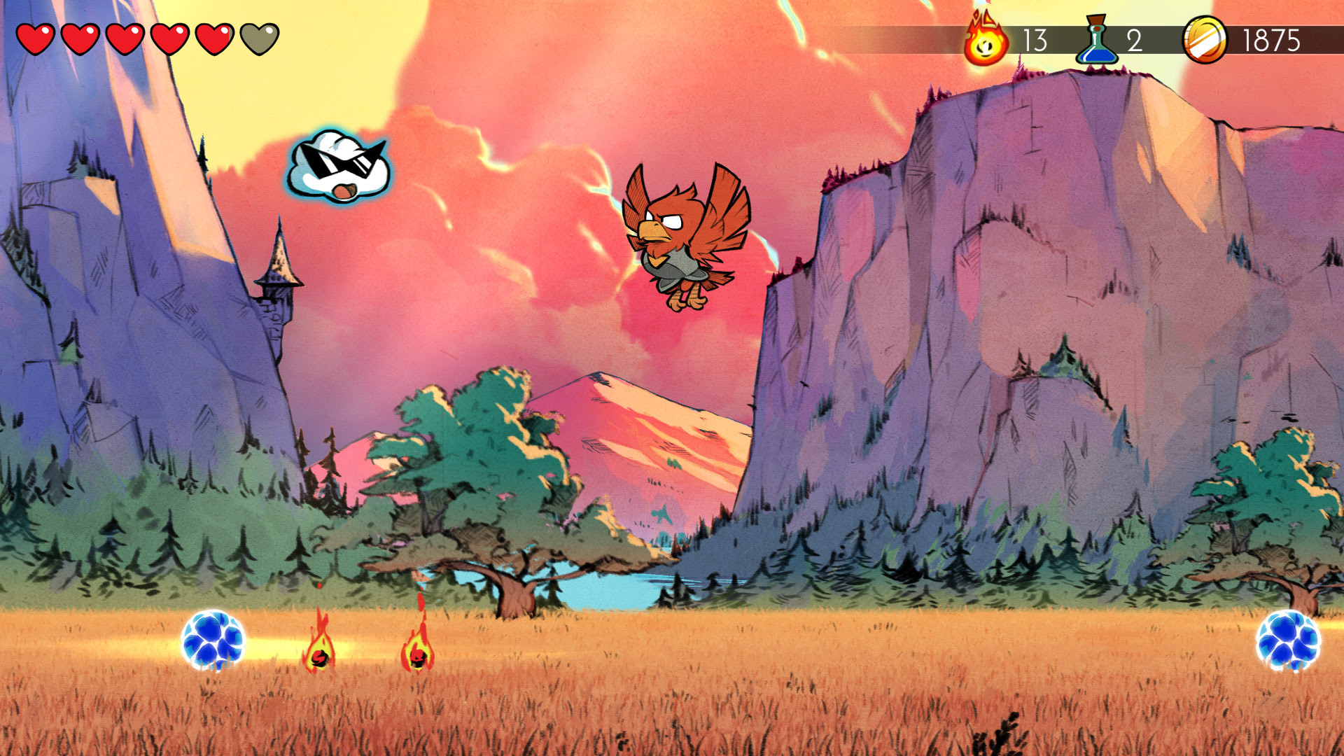 Limited Run Wonder Boy Collector's Edition is lovely screenshot