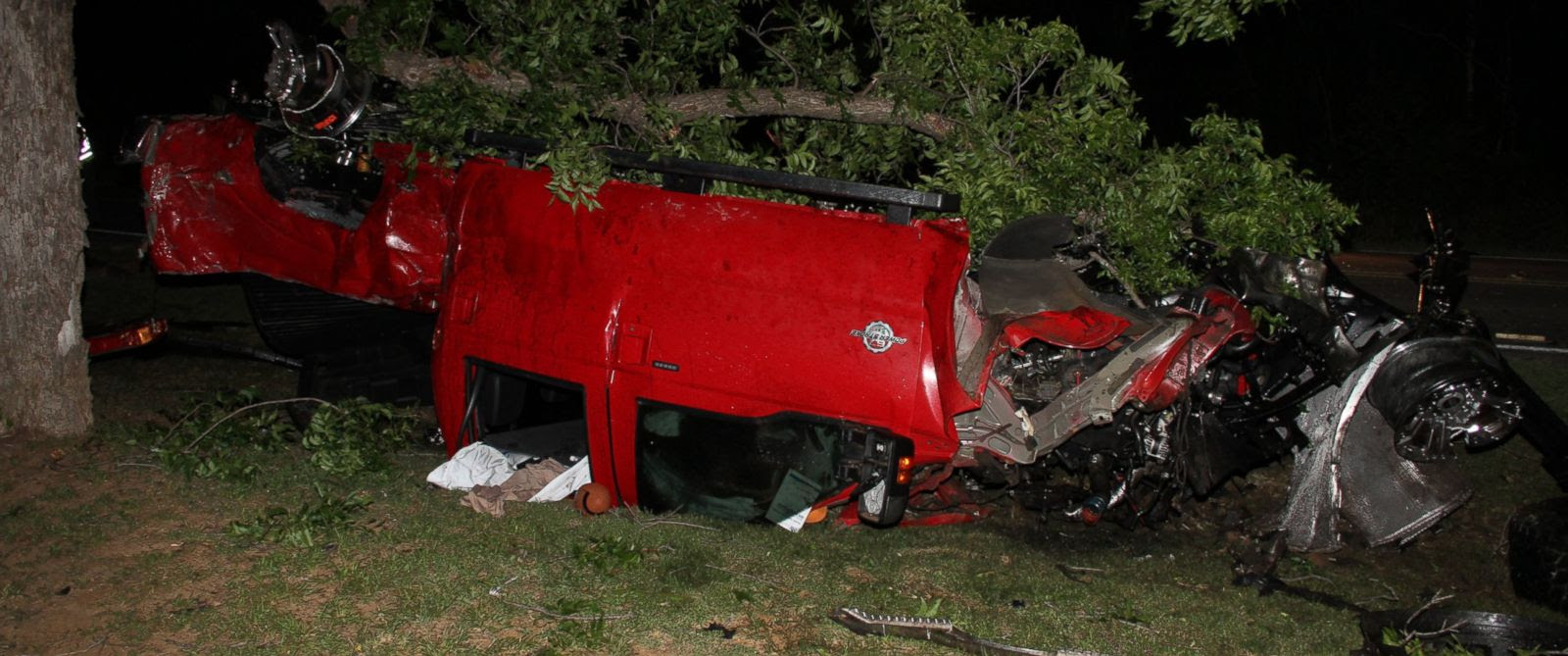 PHOTO: Ethan Couch and seven other teens piled into this pick-up truck before a fatal crash that left four people dead.