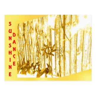 Sunshine Dance Postcards