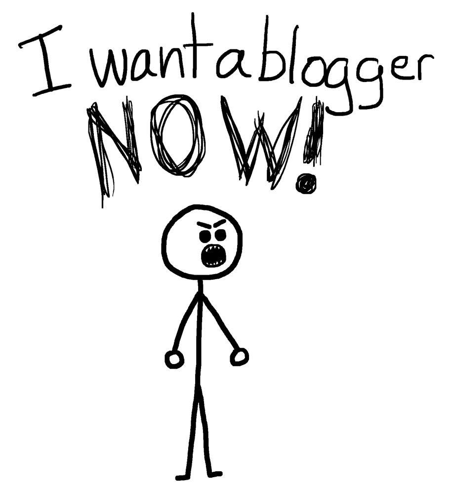 Aku Bukan Blogger di Depan Laptop