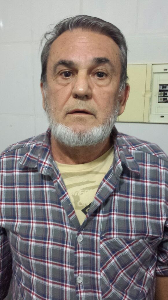 Ex-senador e empresário Mário Calixto Filho, preso em Balneário Camboriú (Foto: PM/Divulgação)