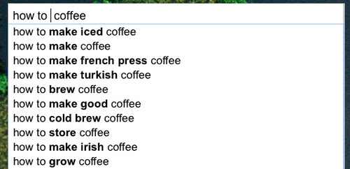 Get Wildcard Suggestions with a Google Autocomplete Trick