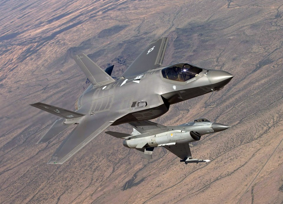 F-35 e F-16